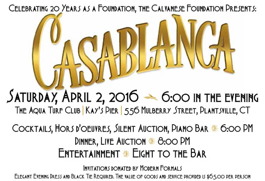 A Celebration Of The Calvanese Foundation's 20th Anniversary